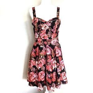 Art + Tatyana Beach Bash Floratina Pinup Dress: L